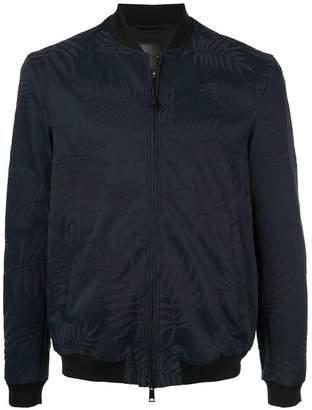 Emporio Armani floral jacquard bomber jacket
