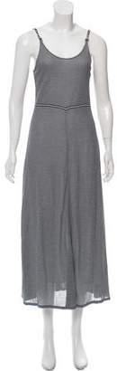 Chanel Striped Midi Dress