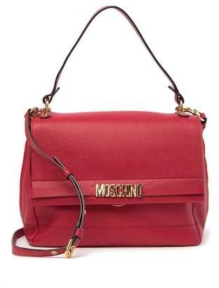 Moschino Leather Satchel