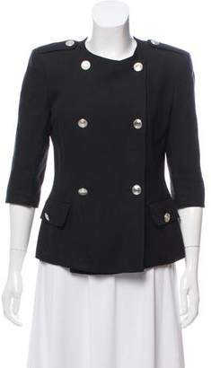 Pierre Balmain Double-Breasted Military Jacket
