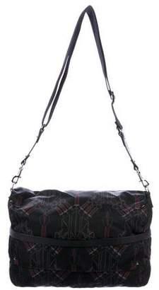 Valentino Nylon Rockstud Messenger Bag