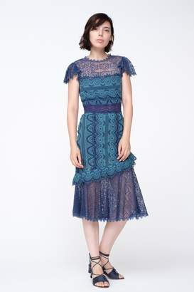 Sea Lola Lace Midi Dress