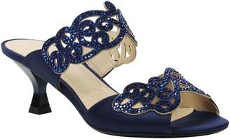 J. Renee Low Heel Sandals - Francie
