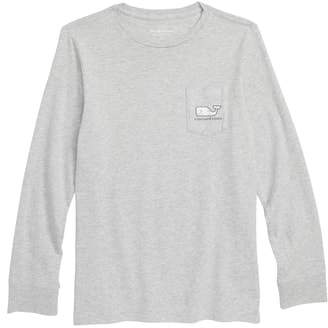 Vineyard Vines Hockey Rink Whale Long Sleeve T-Shirt