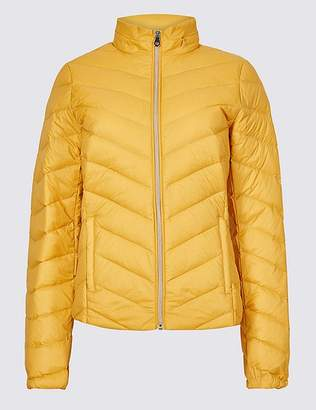 """Marks and Spencer Lightweight Down & Feather Jacket with Stormwearâ""""¢"""