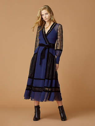 Diane von Furstenberg Forrest Silk Wrap Dress