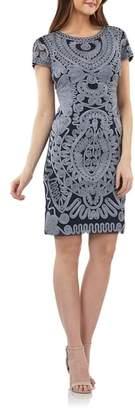 JS Collections Soutache Dress