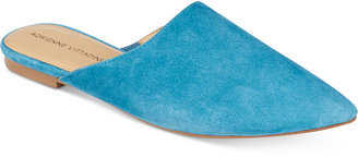 Adrienne Vittadini Flory Slip-On Mules Women's Shoes $89 thestylecure.com