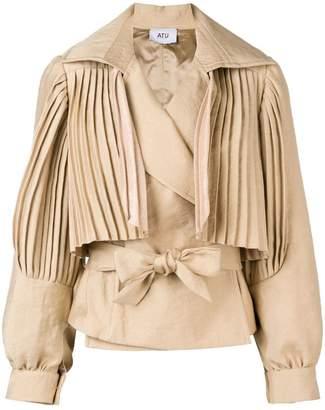 Couture Atu Body Sundown pleated jacket