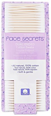 Face Secrets Double Tipped Cotton Swabs 500ct. $3.49 thestylecure.com