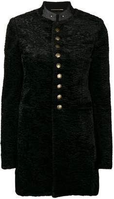 Saint Laurent military coat