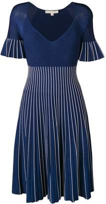 Jonathan Simkhai striped lurex knit dress