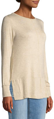 Bobeau Jayme Long-Sleeve Knit Tee