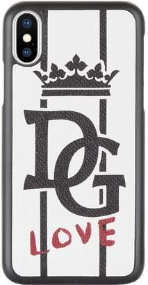 Dolce & Gabbana Love Crown iPhone X Case