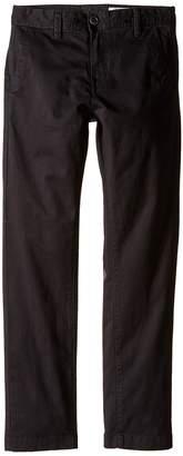 Volcom Frickin Slim Chino Pants Boy's Casual Pants