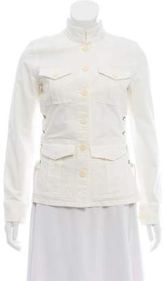 Tory Burch Lace-Up Utility Jacket