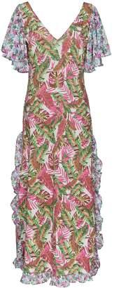 All Things Mochi leandra floral maxi dress