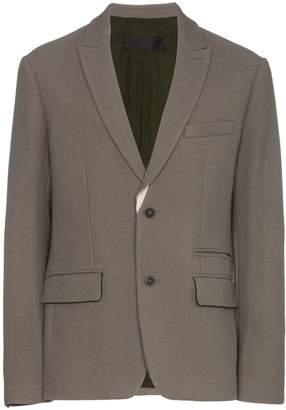Haider Ackermann single-breasted wool blazer