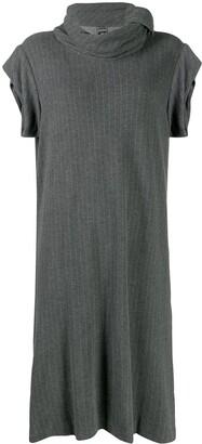 Jean Paul Gaultier Pre-Owned 1990's pinstriped midi dress