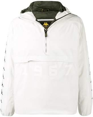 Kappa half-zip hooded jacket