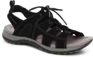 Women's Sassy Sport Sandal -Black $79 thestylecure.com