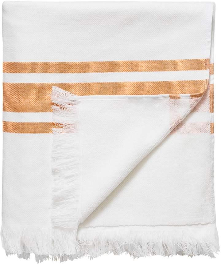 Handtuch Aus Baumwolle Mit Fransen