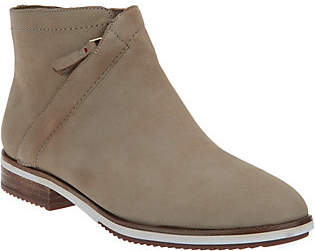 ED Ellen Degeneres Leather Ankle Boots -Zaina