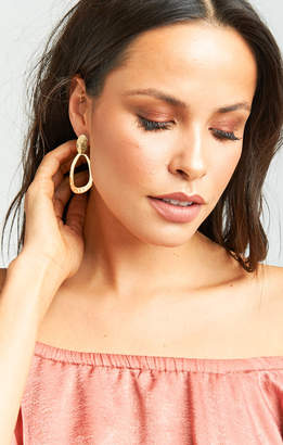Show Me Your Mumu Nala Tear Drop Earrings ~ Gold