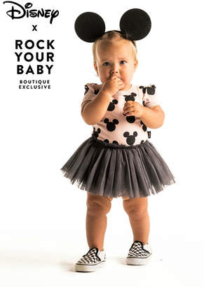 Rock Your Baby Mickey Silhouette Dress