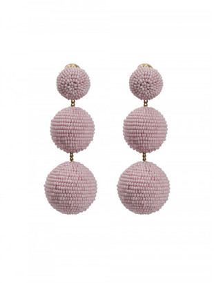 Rebecca De Ravenel CLASSIC 3 DROP BEADED EARRING $425 thestylecure.com
