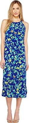 Ellen Tracy Women's Halter Maxi Dress