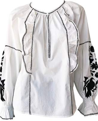 Joie Cleavanta Embroidered Top