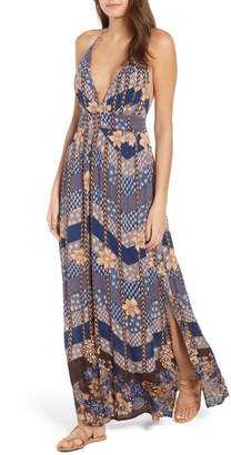 O'Neill Annalisa Halter Maxi Dress