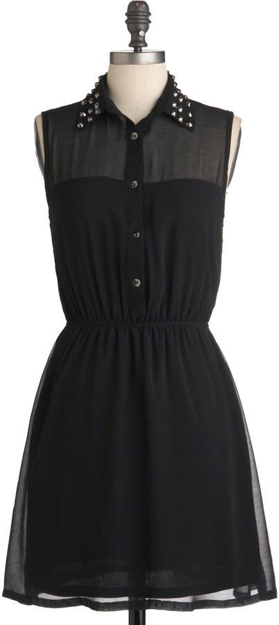 As Noir as I'm Concerned Dress