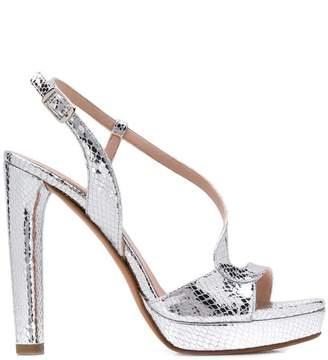 Albano snakeskin-effect sandals