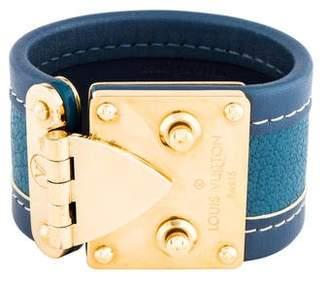 Louis Vuitton Suhali Wrap Bracelet