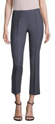 Agnona Stretch-Wool Side-Zip Pants