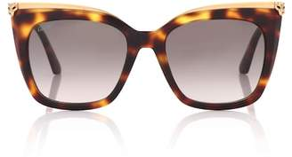 Cartier Eyewear Collection Panthère de square sunglasses