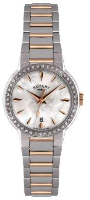 Rotary 42 Quartz Stainless Steel Watch