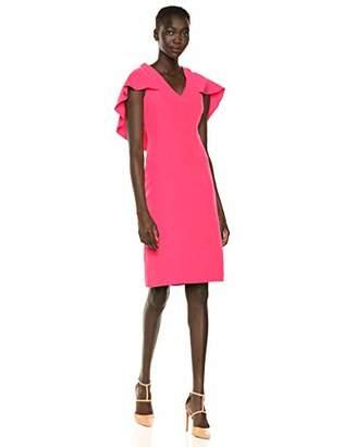 Nanette Lepore Nanette Women's Slvls Cape Overlay Shift Dress