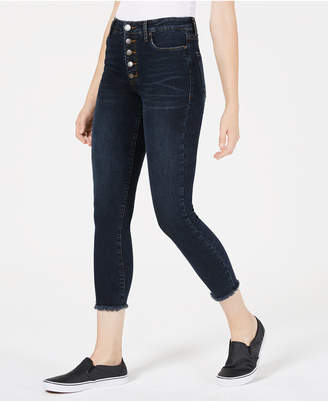 STS Blue Ashley Button-Fly Cropped Skinny Jeans