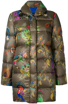 Etro printed padded coat
