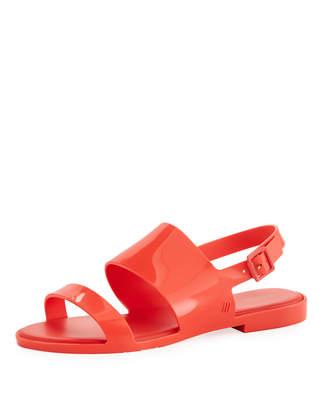 Melissa Shoes Classy Two-Band Slingback Sandal
