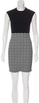 Alexander McQueen Embroidered Mini Dress w/ Tags