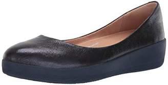 FitFlop Women's Superballerina Glitzy Shoe,7 M US