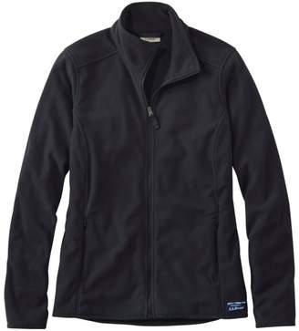 L.L. Bean L.L.Bean Women's Soft-Brushed Fitness Fleece Zip-Pocket Jacket