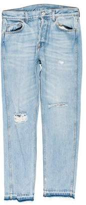 Gucci Distressed Cropped Skinny Jeans