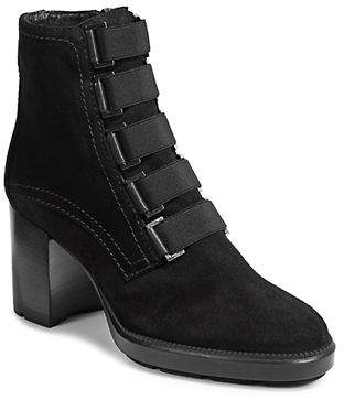 Aquatalia Indira Almond-Toe Booties