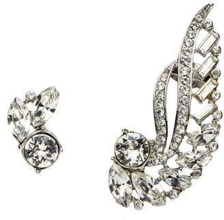 Ben-Amun Mismatched Crystal Earrings