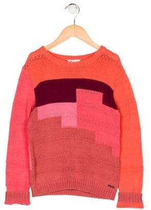 Little Marc Jacobs Girls' Crew Neck Sweater w/ Tags